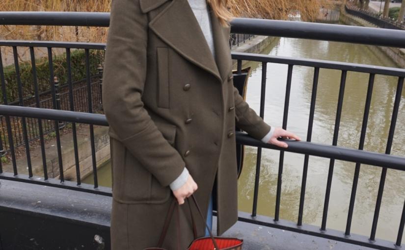 Khaki coat Sunday