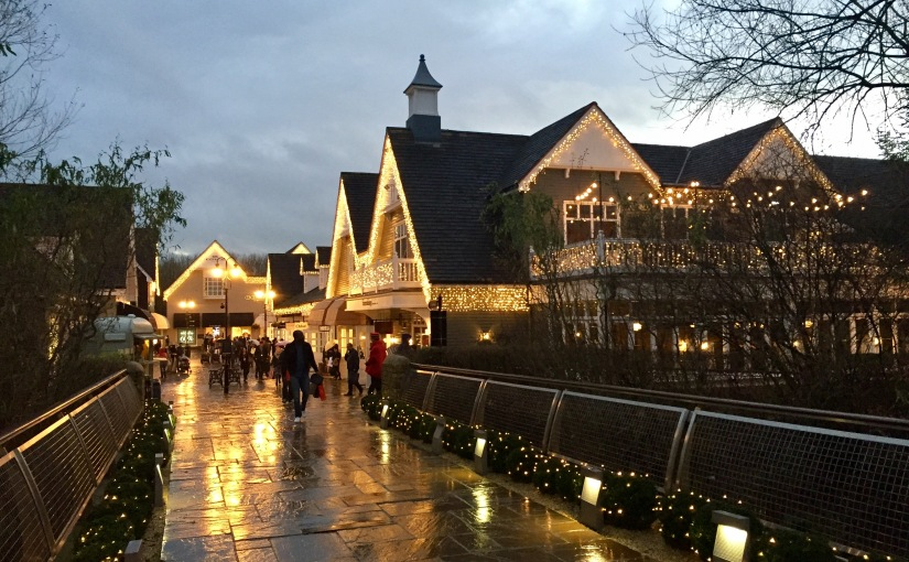 Discount shopping anybody ? … Bicester!