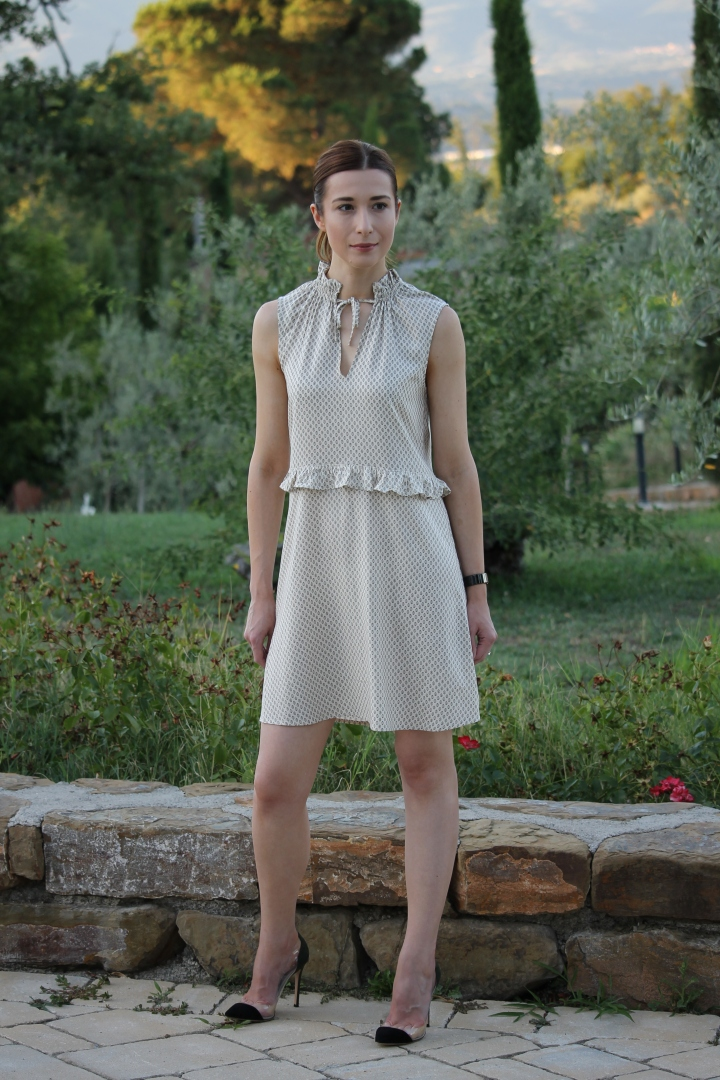 What I wore Sunday… evening in Italian village