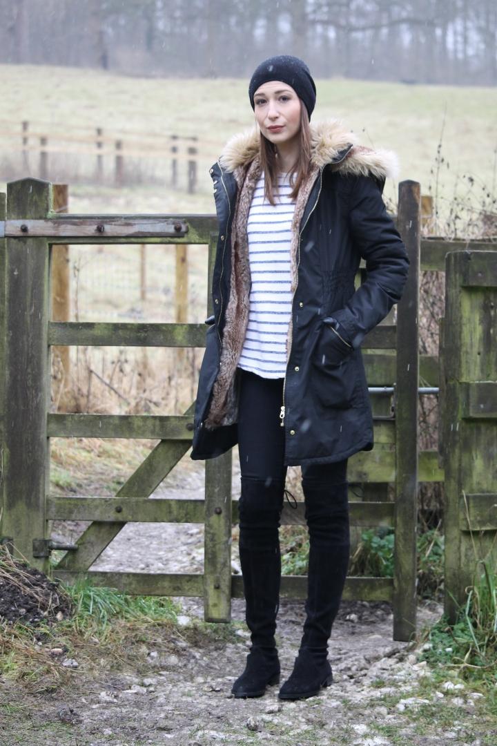 What I wore Sunday… winterwalk