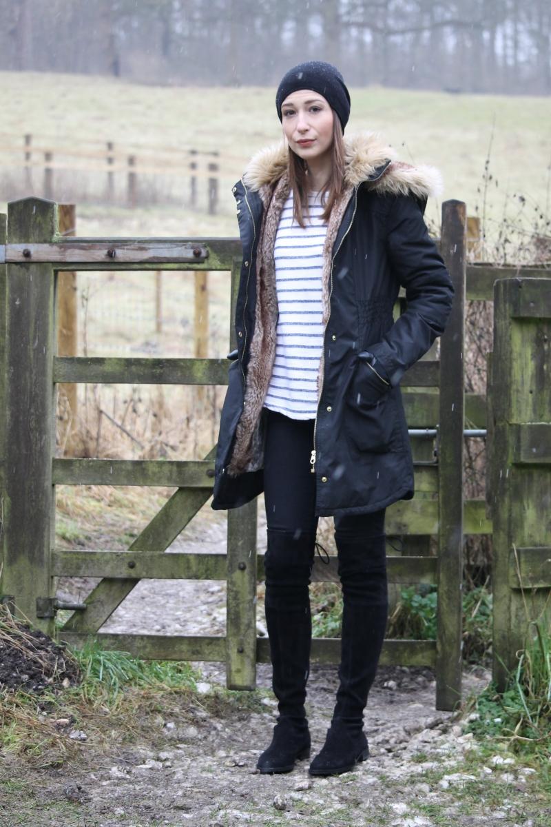 What I wore Sunday... winter walk