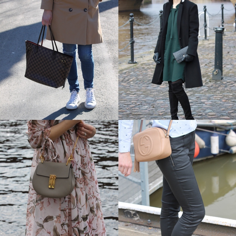 Designer handbags shopping rules and five starterbags