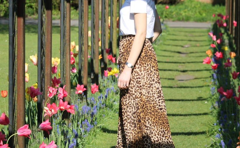 What I wore Sunday… my take on animal print