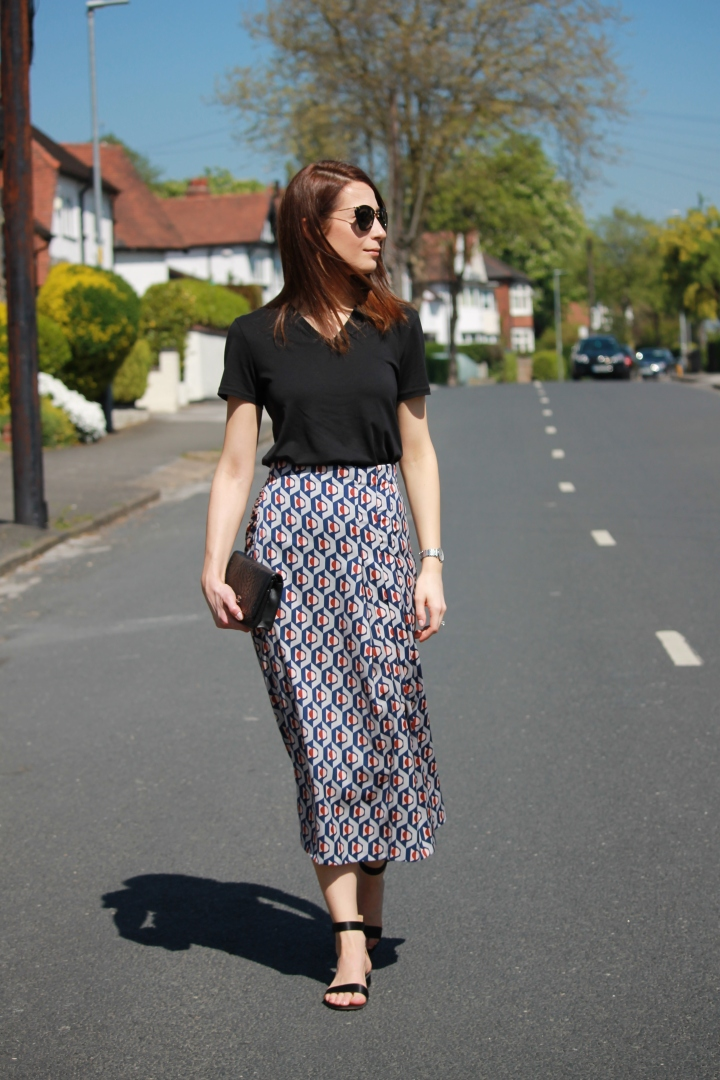 What I wore Sunday… prints part 2