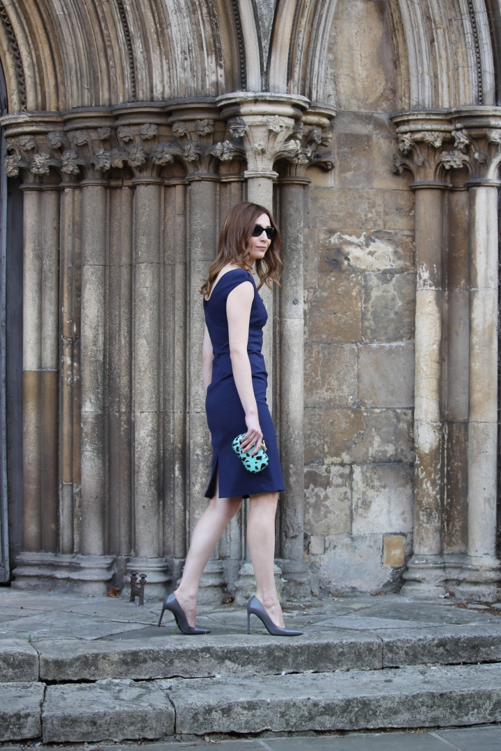 What I wore Sunday… little navydress