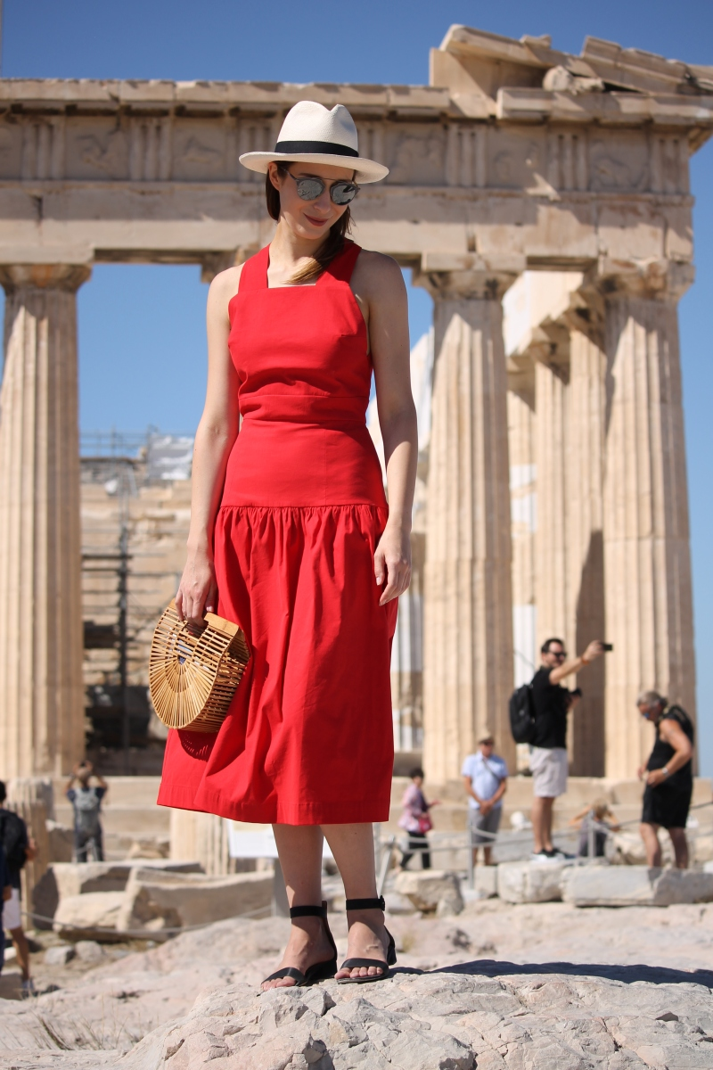 What I wore Sunday... one day in Athens