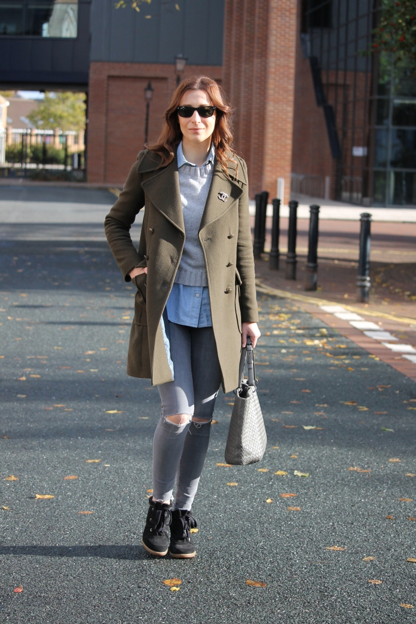 What I wore Sunday… my uniform for this time of theyear
